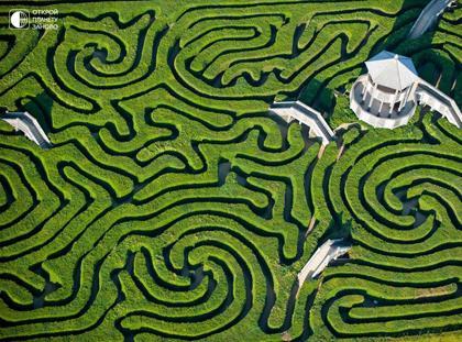 Longleat-Hedge-Maze-Wiltshire-England-