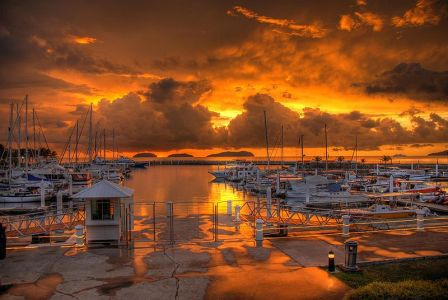 Sutera_harbour_sunset