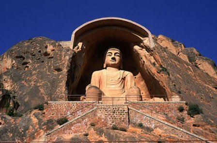 Xumishan-Grottoes-China-520